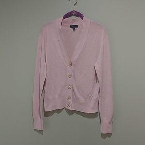 ☀️J Crew pale pink cardigan